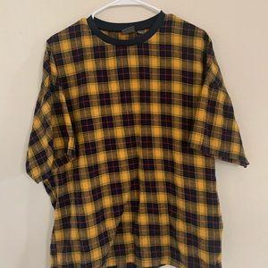 Plaid t shirt 1/2